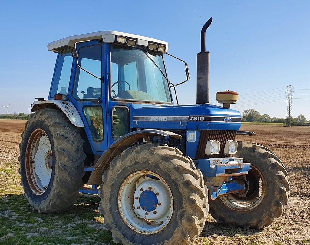 Carpenters Farm Tractor